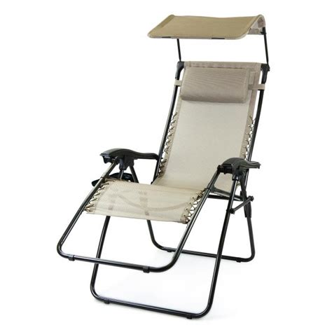 picnic time reclining c chair picnic time serenity reclining lounge chair with sunshade