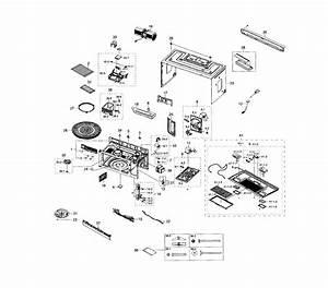 Samsung Me18h704sfs Diagram