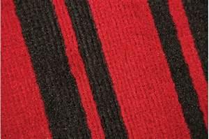 Tapis Noir Et Rouge : tapis 100 polypropylene maidstone 120x160 rouge et noir tapis design pas cher ~ Dallasstarsshop.com Idées de Décoration