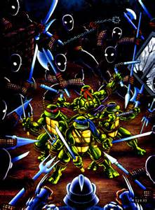 Teenage Mutant Ninja Turtles: Turtles In Time Artwork | Sega Made Bad ...
