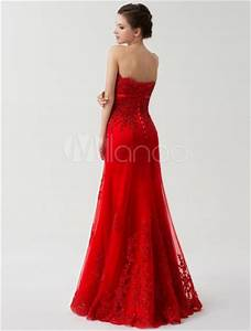 red wedding dresses off the shoulder bridal dress lace With robe rouge fendue