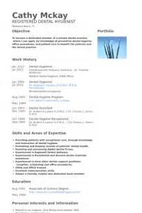 dental hygienist cv template dental hygienist resume sles visualcv resume sles database