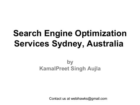 search engine optimisation company search engine optimization services sydney australia v