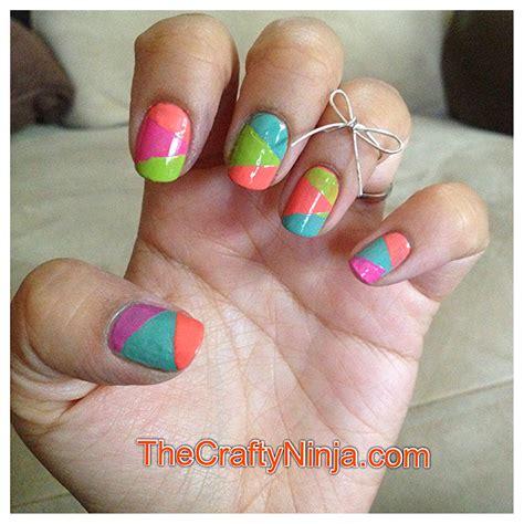 diy nail designs astounding diy nail designs using scotch
