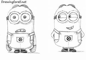 How to Draw Minions | DrawingForAll.net