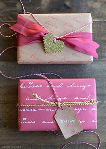 diy letter gift wrap gift ideas wrapping pinterest With love letter gift ideas