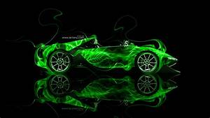 Ferrari Sergio Side Fire Abstract Car 2014 | el Tony
