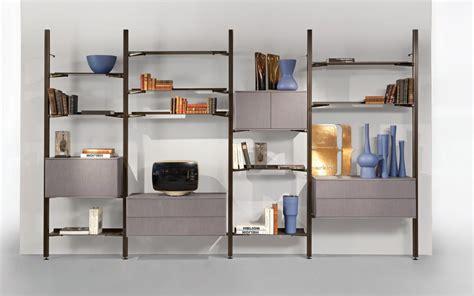 how to a glass shelf transpace bookcase design sacha lakic for roche bobois
