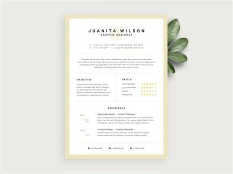 Where To Find Resume Templates by 20 Best Resume Template Psd Free Graphicslot