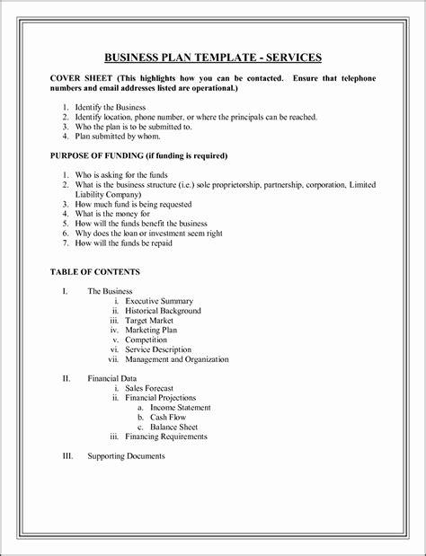 simple business plan template  sampletemplatess