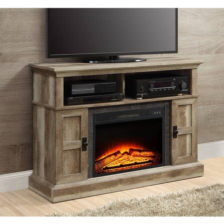 whalen fireplace tv stand whalen media fireplace console for tvs up to 55