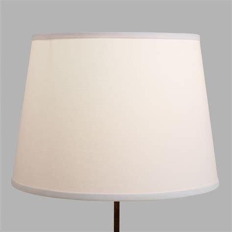 white table l shade white cotton linen table l shade world market