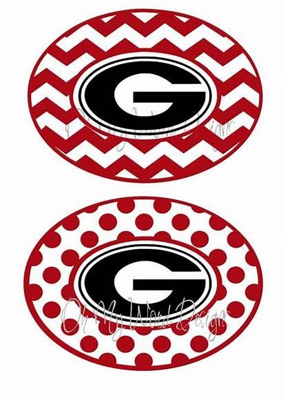 Georgia Bulldog Vinyl Decal Svg Bulldogs Decals