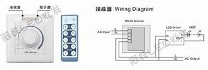 Led 110v Wiring Diagram Free Download Schematic : 110v 220v scr led dimmer ir remote controller lighting ~ A.2002-acura-tl-radio.info Haus und Dekorationen