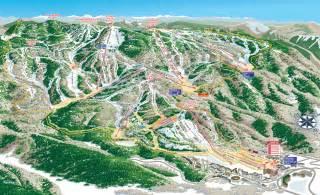 Steamboat Springs Ski Resort Trail Map