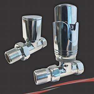 Central Heating Chrome Valves & Accessories For Radiators ...