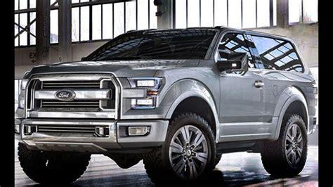 2018 Ford Bronco Design Interior And Engine