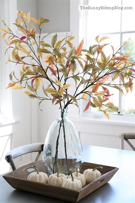 pottery barn fall decor fall into home tour the side up