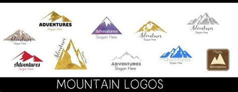 mountain logo maker