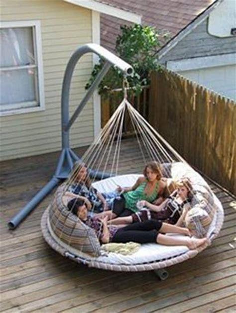 floating outdoor bed artistic land outdoor hammock bed