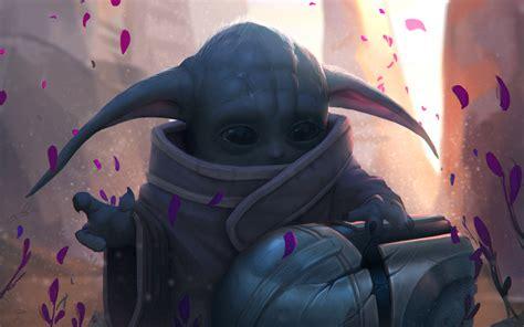 2560x1600 Fan Art Baby Yoda 2560x1600 Resolution Wallpaper