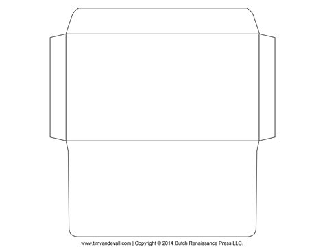 printable envelope template downloadable envelopes