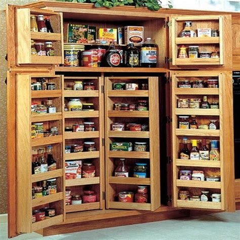 pantry style kitchen cabinets pantry cabinet shallow pantry cabinet with bright