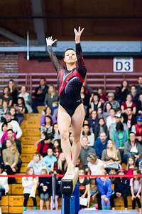 Women's gymnastics shows grit, but fails to advance ...