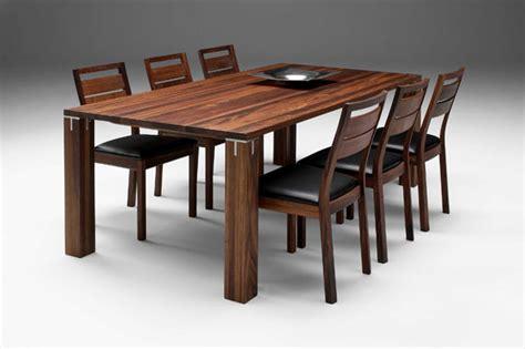 Schoene Ideen Fuer Esstisch Mit Stuehlenfabulous Solid Wood Dining Table Modern Woden Brown Color Design fabulous solid wood dining table modern woden brown color