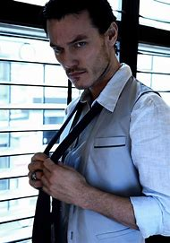 Luke Evans Photo Shoot