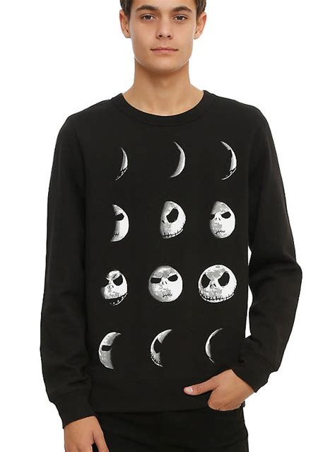 nightmare before sweater the nightmare before moon crew pullover