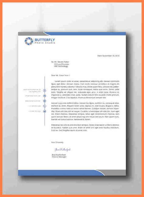 cool letterhead templates company letterhead