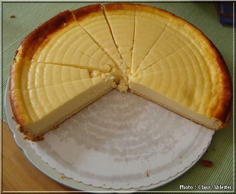 recette cuisine allemande recette kasekuchen le cheesecake allemand