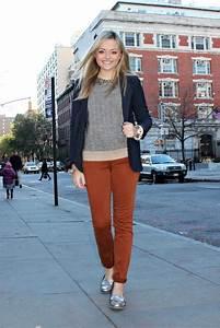 How to wear rust color | Dress like a parisian