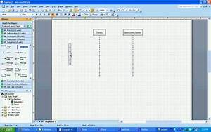 Microsoft Visio Sequence Diagram