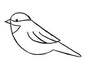Simple Bird Drawings Easy