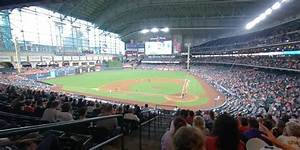 Section 216 At Minute Park Houston Astros