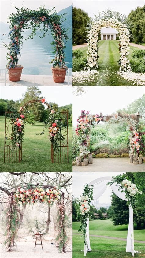 Arch Decorations For Weddings by Wedding Arch Ideas You Ll Fall In Love With The Koch Blog