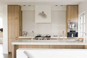 mitigeur douchette le robinet de cuisine moderne par mgs With cuisine bois clair moderne