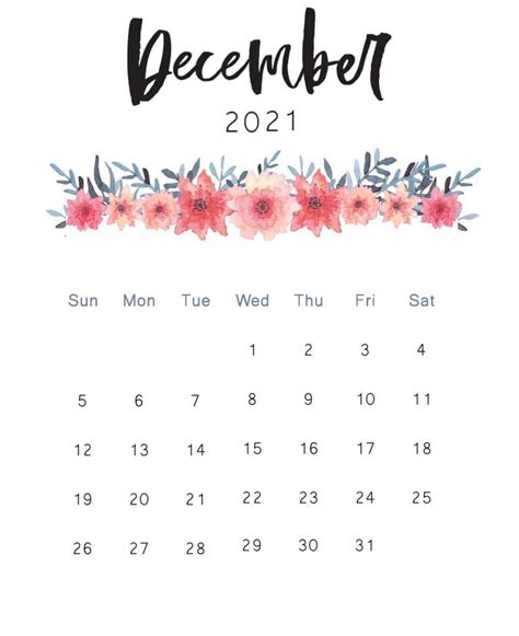 floral wall  monthly calendars