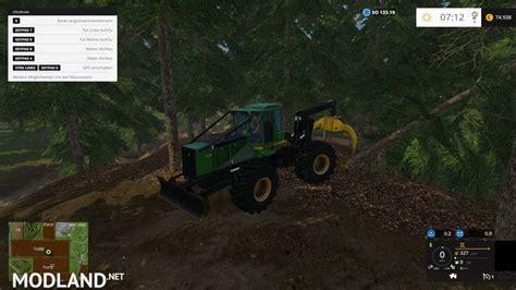 forest map   mod  farming simulator   fs