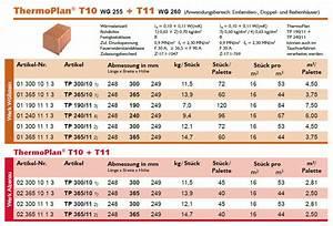 Poroton 36 5 Ohne Dämmung : thermoplan t und ts die allrounder juw poroton ~ Lizthompson.info Haus und Dekorationen