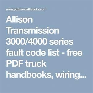 Allison Wiring Diagram