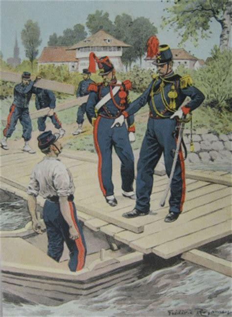 historique des pontonniers militaires entre 1792 et 1815