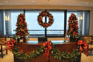 atlanta christmas decorations trees wreaths holidays poinsettia plants chelsea floral designs