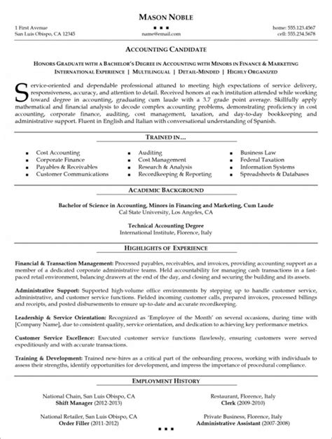 Organisational Managerial Skills Resume by Resume Organizational Skills Sle