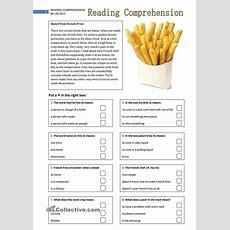 Reading Comprehension 2  Reading Comprehension  Reading Comprehension, Worksheets, Reading