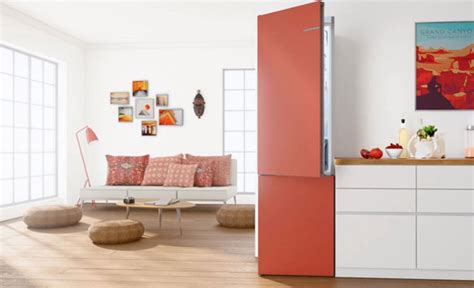 bosch vario style bosch launches fridge freezer with changeable coloured doors get connected magazine