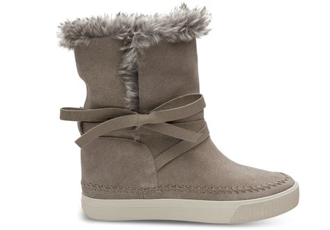 Desert Taupe Suede Women's Vista Boots