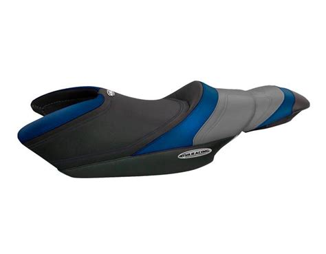 riva yamaha fzr seat cover black blue